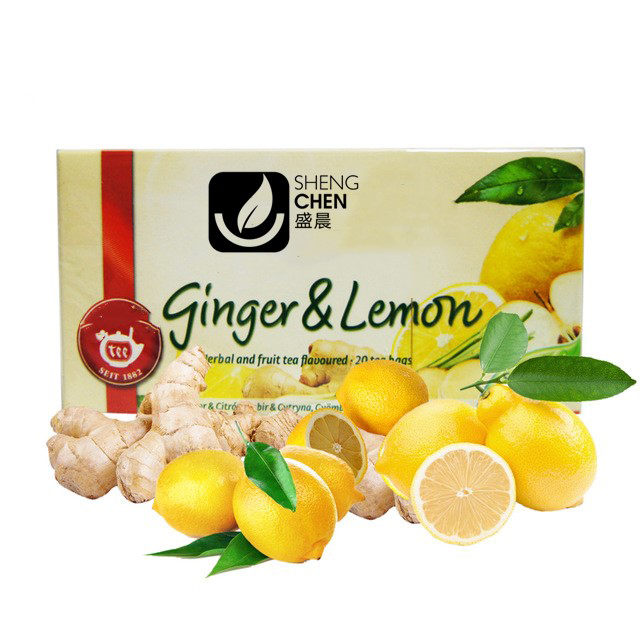customized private label for 100% slim natural instant lemon ginger tea powder/granule - 4uTea | 4uTea.com