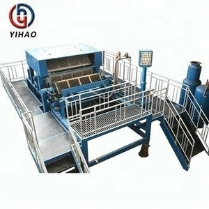 3000p/h used paper egg tray machine use palm branch as fuel