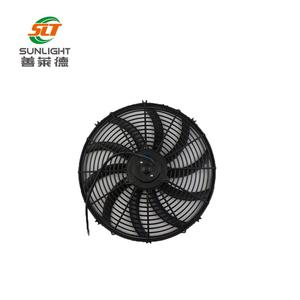 Cooling high cfm exhaust fan with long life