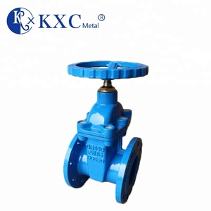 "3"" DN80 Soft sealing non-rising stem bs5163 ductile iron gate valve"