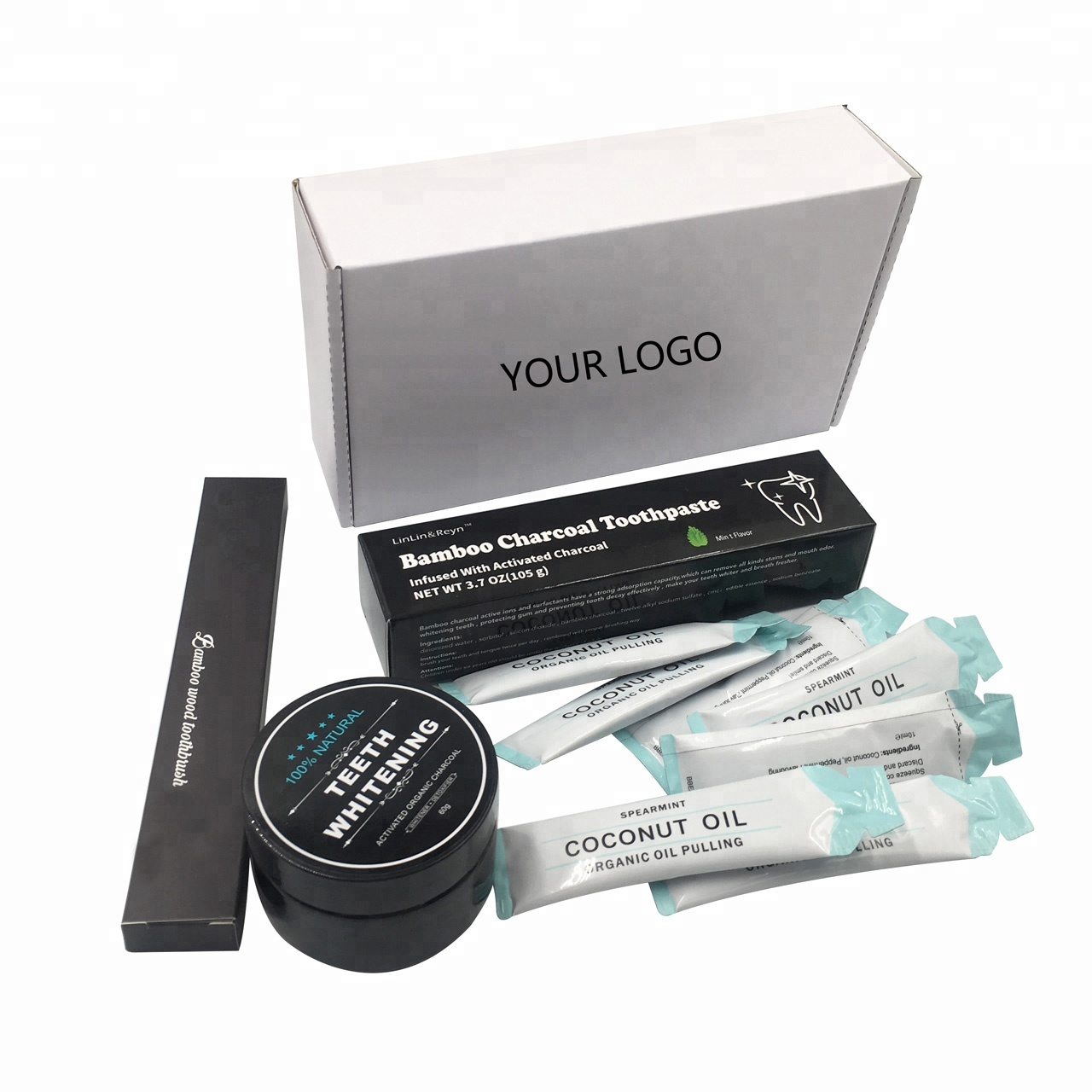 New custom private label home  phone bleaching light gel pen teeth whitening kit