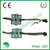 DMX auto smd 5050 led pixel module with IC 2801 addressable backlight