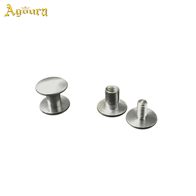 Customized Titanium Small Belt Buckle Screws For Male