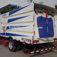 DAF furuika CLW street cleaning truck Dongfeng RHD 4X2 floor sweeper new tow road sweeper for road sweeper truck