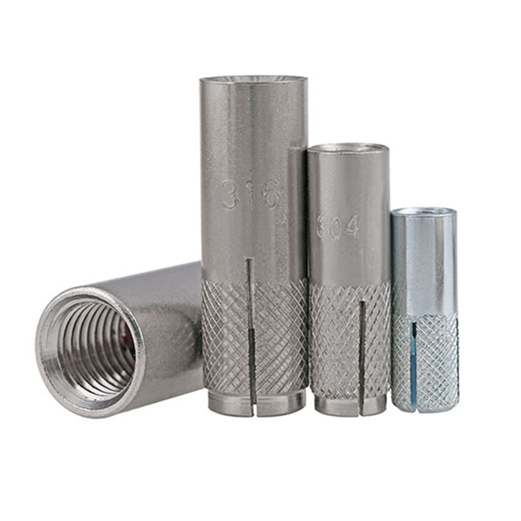 M6 M10 M12 M16 Stainless Steel 304 316 Concrew Drop-in 닻