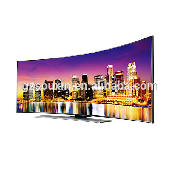 घुमावदार 80 इंच स्मार्ट 4k टीवी नई डिजाइन का नेतृत्व किया