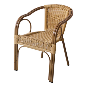 Outdoor Garden Round Plastic Weaving Flower Cheap Wicker Rattan Chair