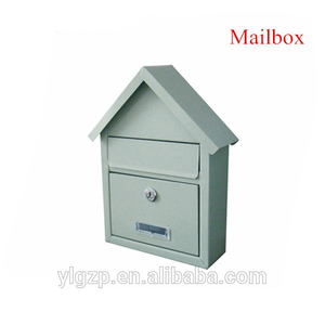 Fashion clear metal mailbox and with free standing mailboxes