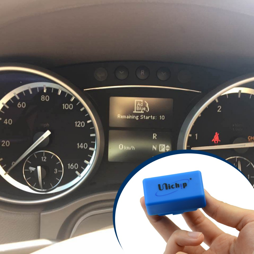 Reset AdBlue light on a mercedes GL by Unichip OBD2 Adblue Faulty Eraser,  View Reset AdBlue light, Unichip OBDII Product Details from Autosvs