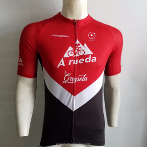 Wholesale china custom sublimation specialized cycling clothes bicycle jersey for men