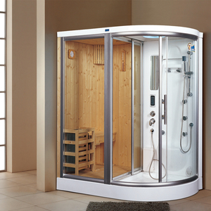 Combination steam sauna room/combo steam sauna rooms/herbal steam sauna
