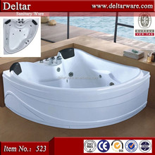 Export Bathtub Prices Relax Massage Function, LED Air Jet Luxury Bathtub for 2 Person, walk in tub shower combo