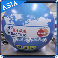 New Fashion Inflatable Earth Globe Planet Helium Balloon Designs For Events Decoration