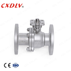 stainless steel direct mounting ball valve