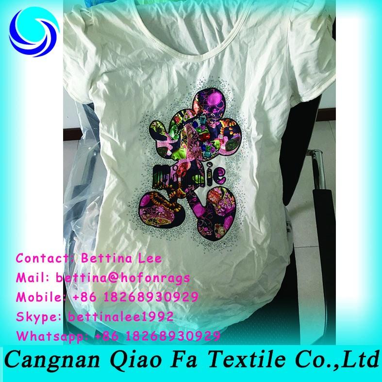 Ready Cut 5kg Bales Of White T Shirt Scrap Cotton Hosiery Waste ...