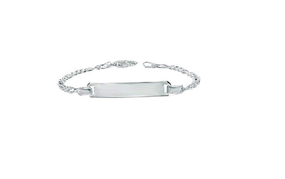 CloseoutWarehouse High Polished Sterling Silver Super Flat Figaro 250 Chain 9.8mm