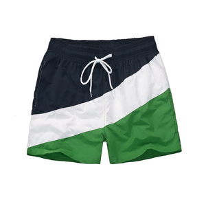 Breathable board shorts custom beach shorts polyester men swimming trunks