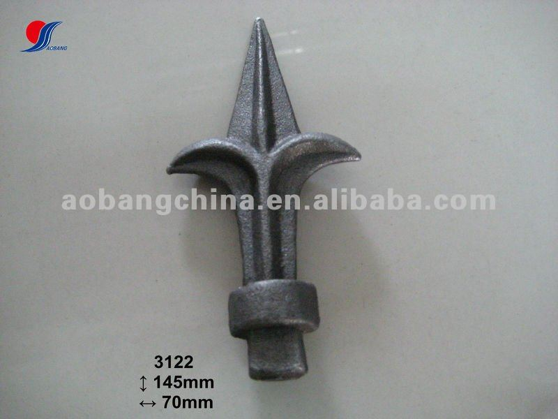 ornamental casting steel spear points