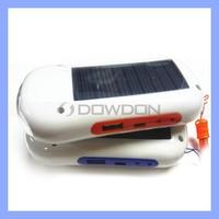 1500mAh Solar Phone Charger LED Light Torch Mini Radio