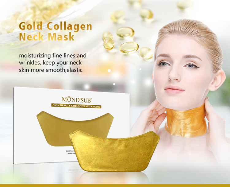 Mond'sub Private Label Nourishing Crystal Collagen Neck And Face Mask