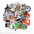 300 Pcs Stickers Mix Style Funny Cartoon Decal Fridge Doodle Snowboard Luggage Decor Jdm Brand Car