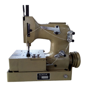 DN-2HS one needle two thread bottom feed paper/jute/PP bag making sewing machine with automatic lubrication
