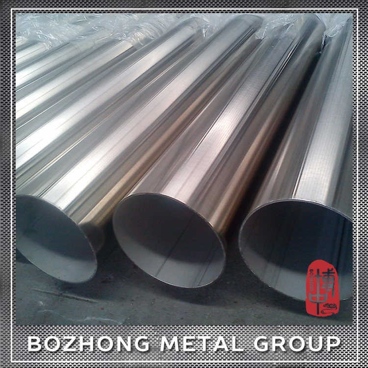 Outer Diameter 6-630mm 200 Series 202 Mirror Polished Stainless Steel Pipe