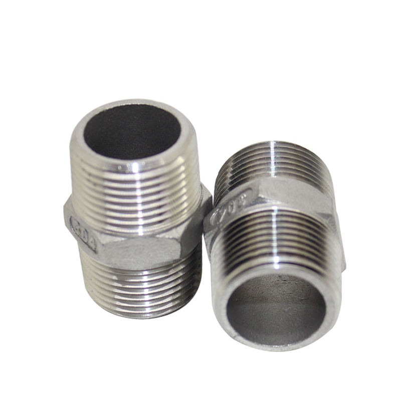 Chinese best Stainless Steel Pipe Fitting HEXAGON Nipple