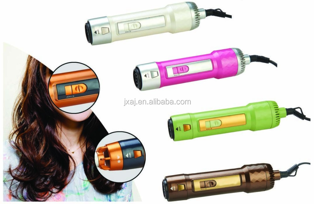 2016 new ionic function hot air brush for 5 colors