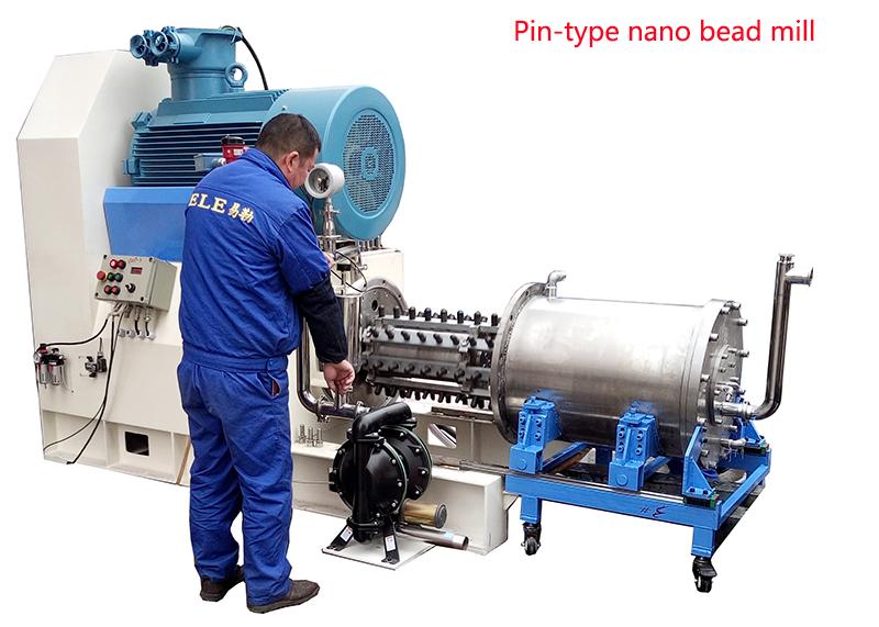 EBW-100 горизонтальная бисерная мельница дискового типа для производства краски