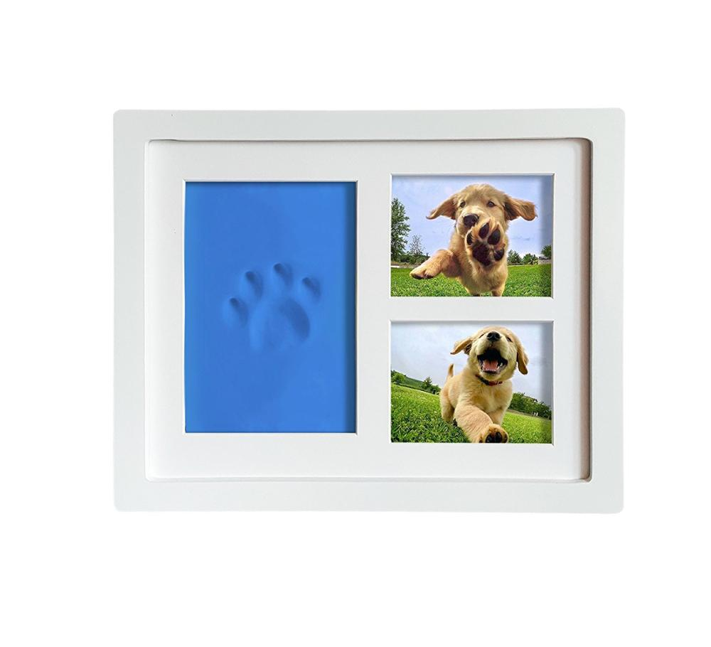 Tiny Ideen Hund Oder Katze Pfotenabdruck Andenken Wand Rahmen Kit ...