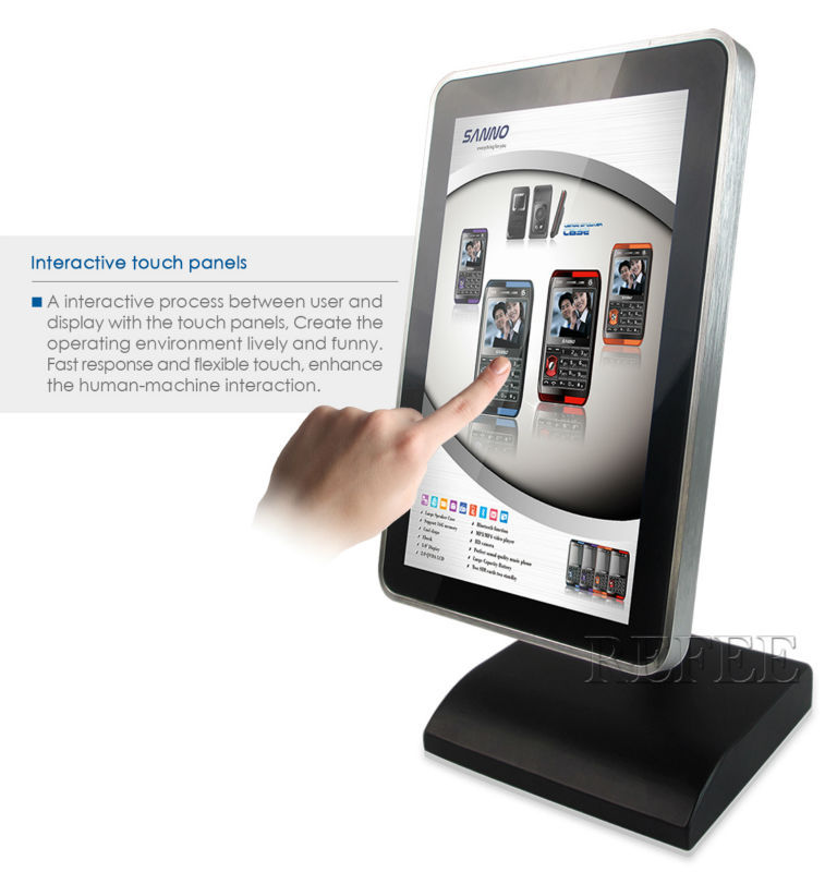 Refee Interactive Restaurant Table Electronic Menu For