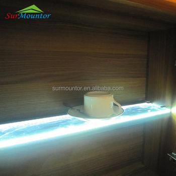kastplank licht barled verlichting glazen planchet