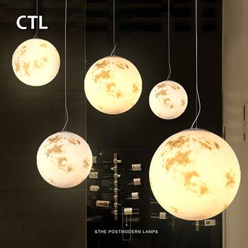 Home Decor Round Mercury Venus Hanging Lamps Pendant Lights Hotel