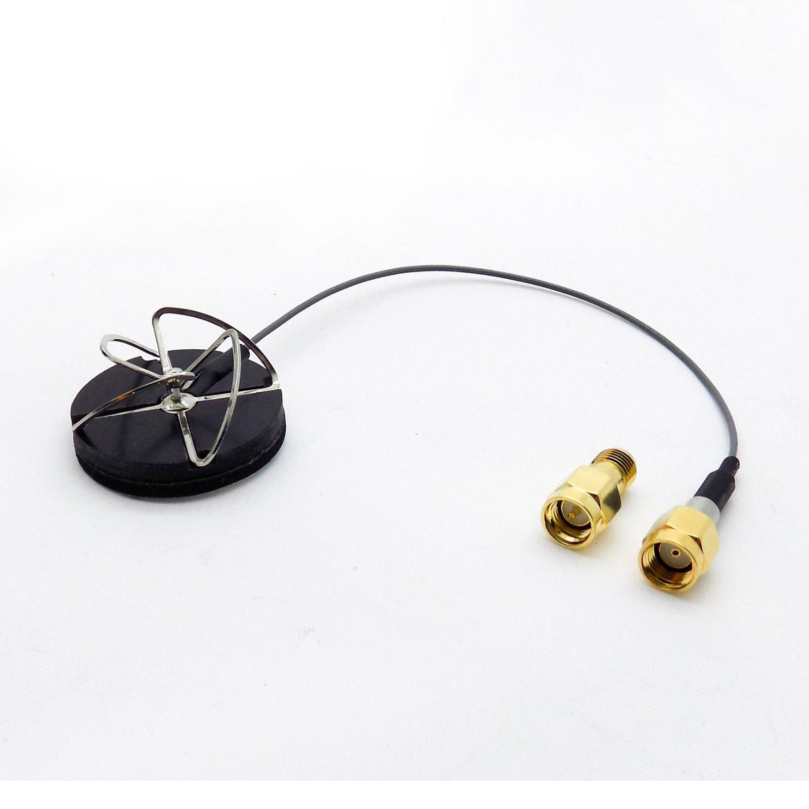 5.8 GHz Circular Polarized Antenna Set TX RX Right Angle SMA Male For DJI Flame