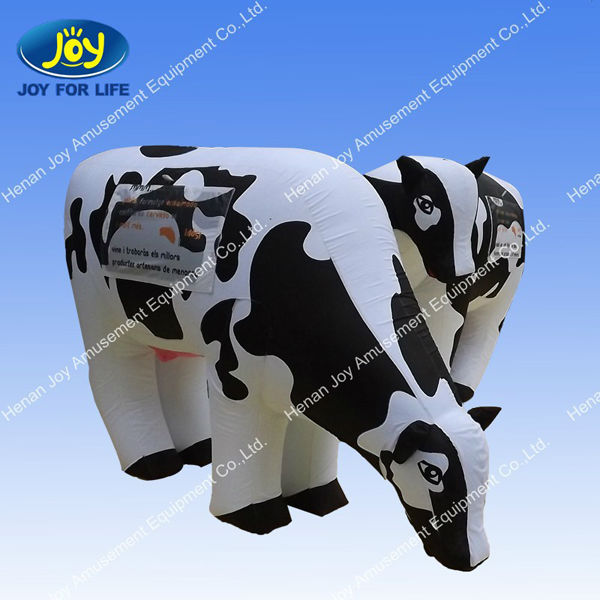 2014 new arrival inflatable cow model ,advertising inflatable models for sale