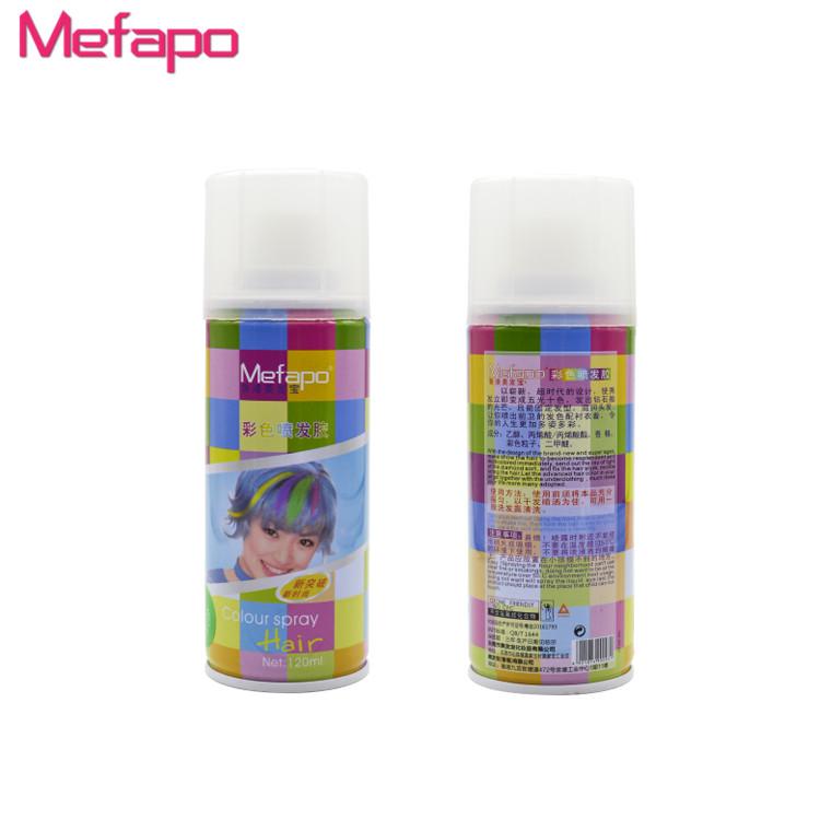 Temporary Washable Hair Color Spray Temporary Washable Hair Color