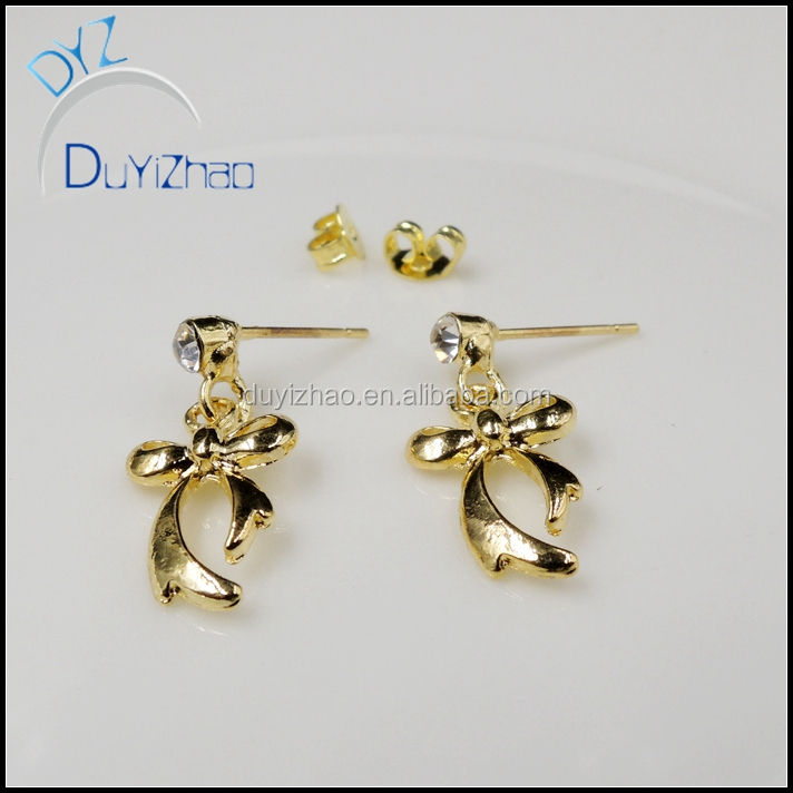 factory news designs cheap cute gold mini Earrings