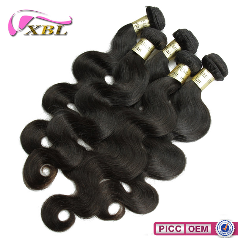 8A Indian Body Wave,10 Pieces Body Wave Hair Bundles ,Indian Virgin 1Kg
