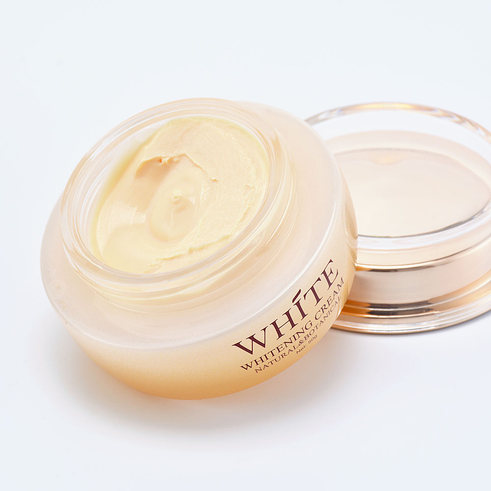 OEM private label Natural skincare cosmetics vitamin C intensive moisturizing whitening firming facial cream for spa