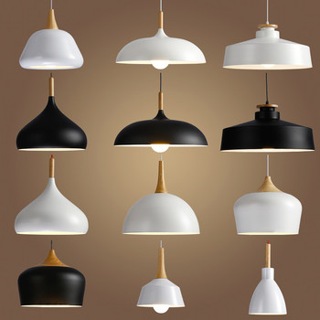 Led Hang Lamp Vintage Loft Pendant Lights Aluminum Suspension Luminaire  Wood Hanging Lightings Kitchen - Buy Led Kitchen Ceiling Lights,40w Kitchen  ...