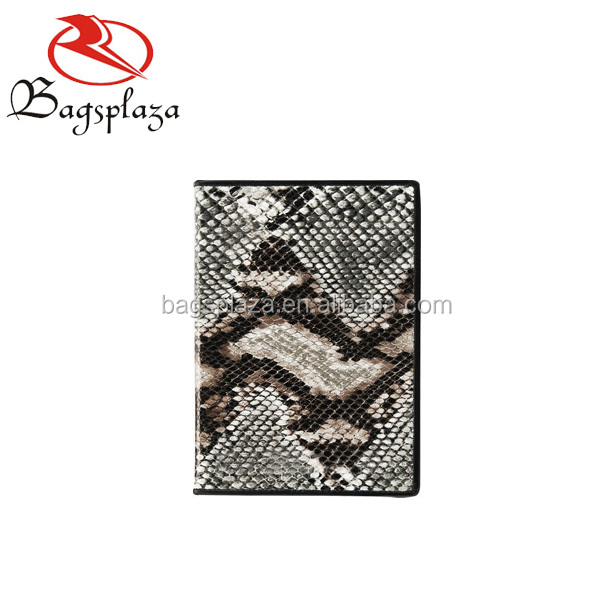 WA9003 New products designer OEM snake short lady PU leather wallet 2016
