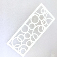 Flowers pattens Plastic Painting Stencils For DIY Spray Hand Painting Wall Decoration Mould Tools