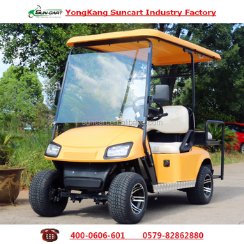 3000w Colorful 4 Seater Club Electric Golf Cart Hotel