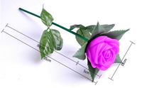 New Design Led Rose Flower Light Lamp Wedding Gift Led Rose Light ...