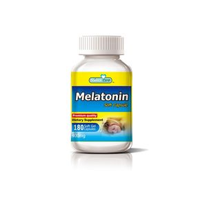 High Quality Gmp Beneficial Sleep Melatonin Softgel Supplement Capsule
