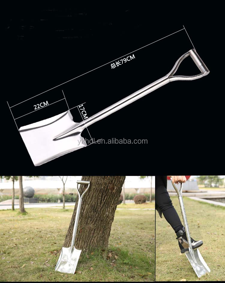 stainless steel snow shovel/spade/hoe/fork/hedge shear/lopper/snips/bonsai tool/saw