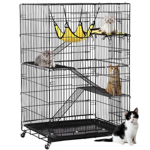Manufacturers wholesale folding cat cages of various sizes