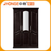 Alibaba China 3 Doors Design Closet Wooden Wardrobe