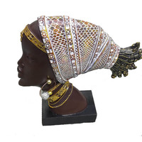 Hot sale african woman figurine african woman statue african woman sculpture